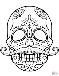 Small Picture Mustache Coloring Pages paginonebiz