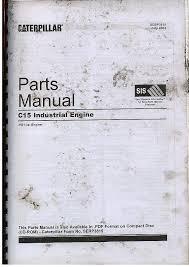caterpillar c industrial engine parts manual