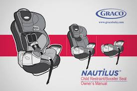 graco nautilus 3 in 1 car seat harness installation