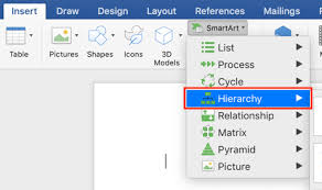 How To Do Hierarchy Chart In Word How To Build Org Charts In Word Templates Pingboard