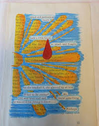 altered books highlight lines and use them to theme your page mixed journal pages fantastic did this for my project it turned out awesome