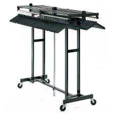 Folding Coat Rack Magnuson Group 100W 100 Hanger Capacity Portable Folding Coat Rack 25