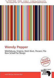 Wendy Pepper : 9786139221943