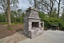 spectacular concrete block outdoor fireplace dexter builders for cinder block fireplaces