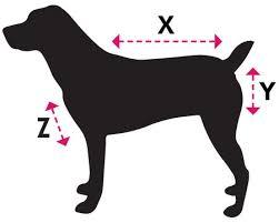 Dog Size Guide Horseware Ireland