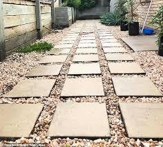 paving stones using a gadget