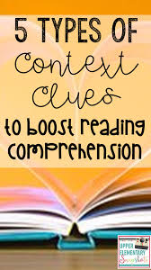 Types Of Context Clues Chart 5 Types Of Context Clues To Boost Reading Comprehension