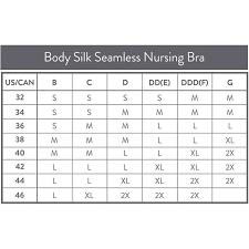 Medela Nursing Bra Size Chart Medela Body Silk Seamless Nursing Bra Black