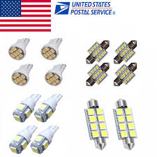 2012 Camaro Dome Light Bulb Size Details About 14x Led Interior Package Kit For T10 31mm Map Led Dome Light Plate Led Lights