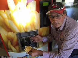Hot Chip Vending Machines Australia Awesome Hot Chips Company Invents World's First HOT CHIP Vending Machine
