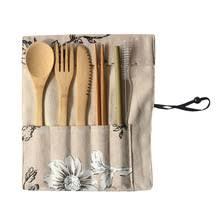 <b>Набор</b> столовой <b>посуды</b> из бамбука и дерева <b>eco</b>-friendly ...