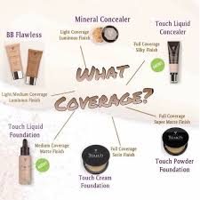 did you know that we have 3 diffe types of foundations available liquid cream and powder so there is something for every skin type