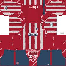 Atletico madrid hd logo | football logos. Atletico Madrid Kits 2020 2021 Nike Dream League Soccer 2019