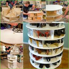lazy susan shoe rack best of wonderful diy lazy susan shoe storage rack of inspirational lazy
