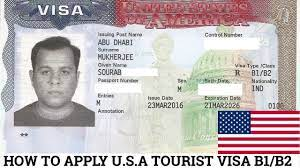 apply for u s a tourist visa from