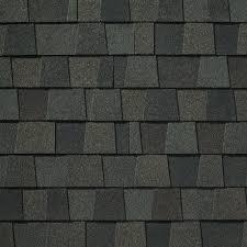 black architectural shingles. Appalachian Sky Black Architectural Shingles