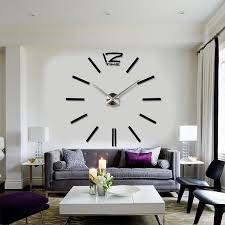Image of: Awesome Perfect Large Contemporary Wall Clocks Ideas