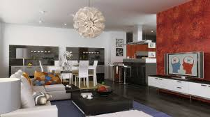 Kitchen And Living Room Enchanting Small Kitchen Living Room Combo Ideas Presents