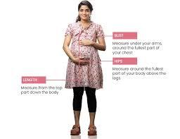 Maternity Pants Size Chart Size Chart