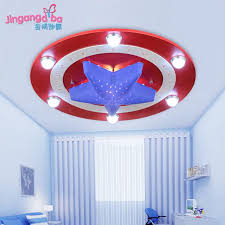 kids room ceiling lighting. 2017 captain america cartoon creative kids room ceiling lamp led lighting boys and girls childrenu0027s bedroom lights from walle_happy_shop 0