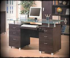 office desk glass. Office Desk With Glass Top. Full Size Of Top Table White Large