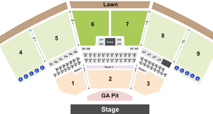 Key Bank Stadium Seating Chart Keybank Pavilion Tickets With No Fees At Ticket Club