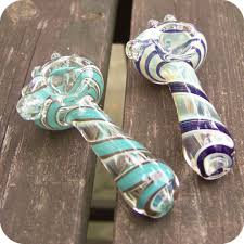 bubble stripe glass pipe