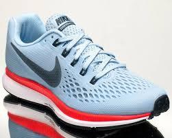 nike pegasus 34. nike wmns air zoom pegasus 34 womens running run shoes new ice blue 880560-404