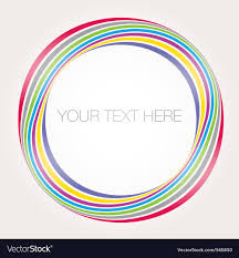 Abstract Colorful Banner Sample Text Royalty Free Vector