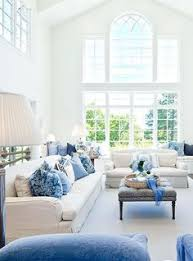 gorgeous blue and white living room by markay johnson blue white living room
