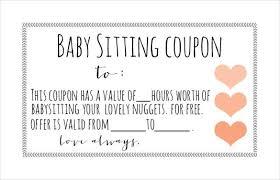 babysitting certificates free babysitting certificate template lissette