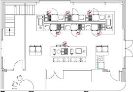 industrial kitchen layout design. sample commercial kitchen design: prep stations (multiple) industrial layout design l