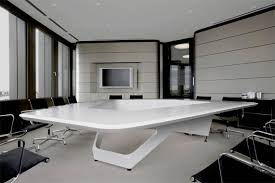 Image Marble Modern Conference Room Table Design By Kinzo Simplified Building Modern Conference Room Table Design By Kinzo Interior Fans