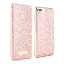 apple iphone 8 gold. ted baker ss17 spritsie mirror folio case for iphone 7 plus - rose gold apple iphone 8