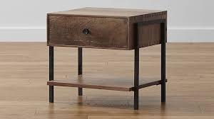 reclaimed wood nightstand. Reclaimed Wood Nightstand L