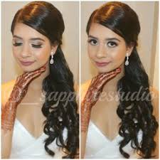 photo of sapphire studio surrey bc canada makeup art hair design