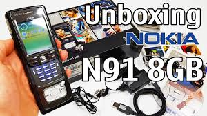 Nokia N91 8GB Black Unboxing 4K with ...