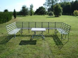 full size of decoration metal garden furniture benches 6 seater garden furniture white metal garden table