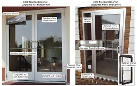 commercial entry door options