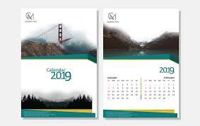 Calender Design Template Damas Simple And Clean Calendar Design Template Psd File Complete 2019