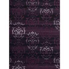 dallas countess plum 5 ft x 7 ft indoor area rug