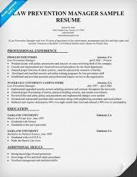 loss prevention resume | cv.essayoneprofessional.us