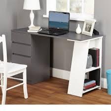 simple living como modern writing desk black computer desks