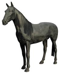 life size display horse