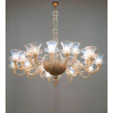 italian opaline chandelier in the style of formia circa 1980s