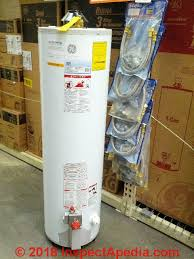 Ge Heater Chart Ge Water Heater Age Decoding Guide Ge Water Heater Manuals