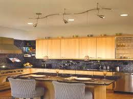 pendant track lighting vaulted ceiling kitchen ideas idea