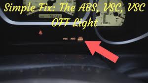 Lexus Rx300 Vsc Warning Light Vsc Light Vsc Light Off Abs Light 01 Lexus Gs430 1 4