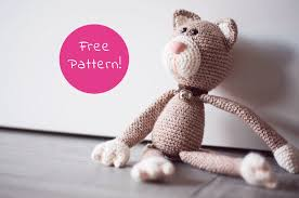 Free Crochet Cat Patterns Stunning Crochet A Cat Free Crochet Pattern Yarnplaza For Knitting