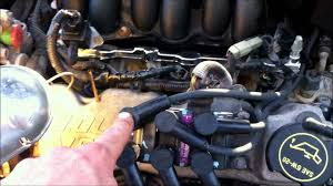 ford taurus spark plug and wire replacement